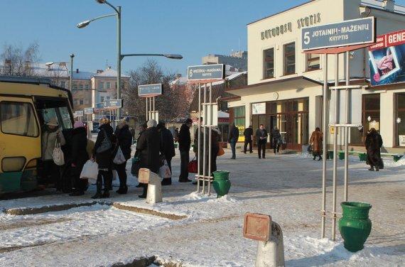 Panevėžio autobusų stotis dabar