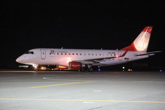 "Juliaus Kalinsko/15min.lt nuotr./""Air Lituanica"" lėktuvas"