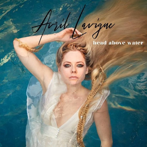 "Avril Lavigne singlo ""Head Above Water"" viršelis"