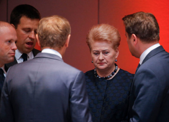 "AFP/""Scanpix"" nuotr./Dalia Grybauskaitė"