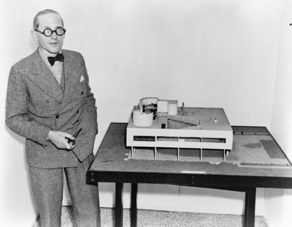 Vida Press nuotr./Legendinis architektas Le Corbusier