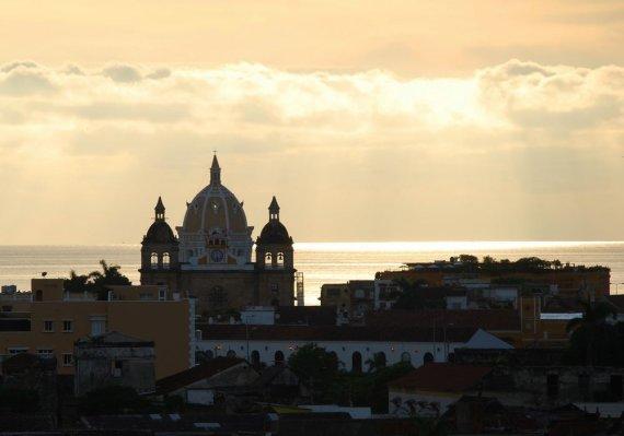 Ž.Lukšytės nuotr./Kolumbija. Kartagena - vakarėjantis miestas