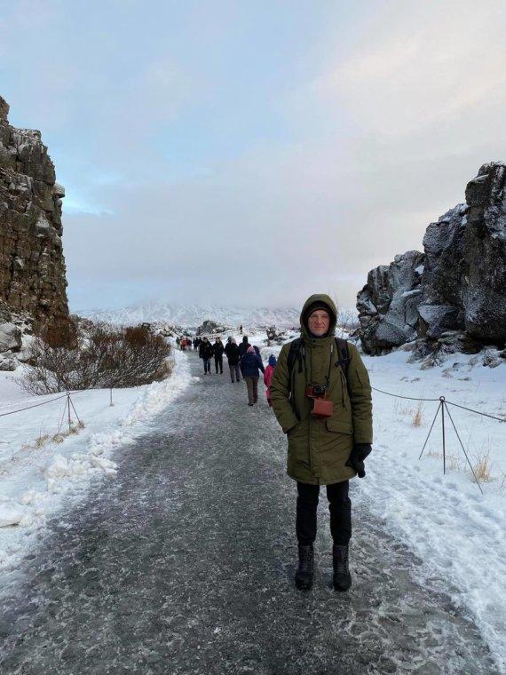 Asmeninio albumo nuotr./Juozas Gaižauskas Islandijoje