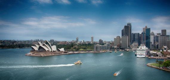 Shutterstock nuotr./Didžiausias Australijos miestas Sidnėjus