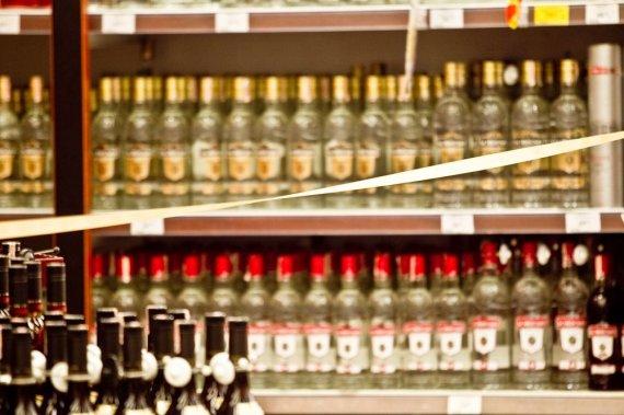 Irmanto Gelūno / 15min nuotr./Draudimas pardavinėti alkoholinius gėrimus.