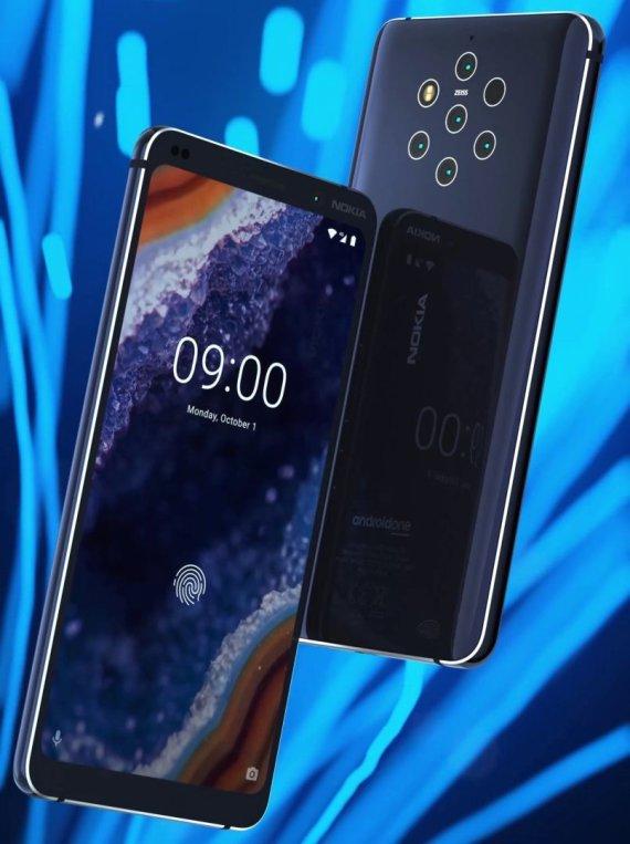 """Evano Blasso nutekinta """"Nokia 9"""" nuotrauka, skirta spaudai"""