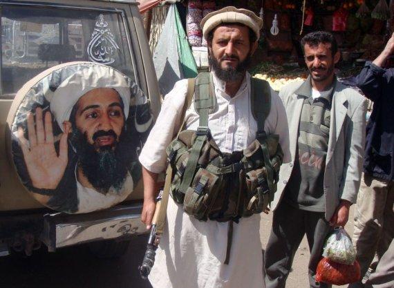 """AFP/Scanpix nuotr./""""Al-Qaeda"""" nariai"""