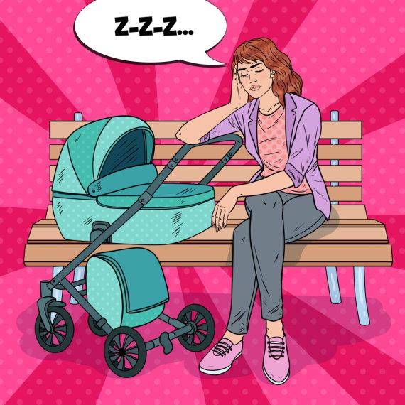 123RF.com nuotr./Mama su savo vaiku