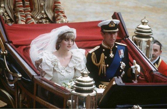 """""""Scanpix""""/""""SIPA"""" nuotr./Princesė Diana ir princas Charlesas"""