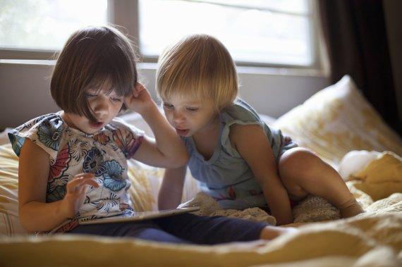 Vida Press nuotr./Vaikai ir išmaniosios technologijos