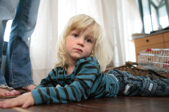 Vida Press nuotr./Žaidžiantis vaikas