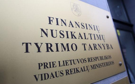 Juliaus Kalinsko/15min.lt/Finansinių nusikaltimų tyrimo tarnyba
