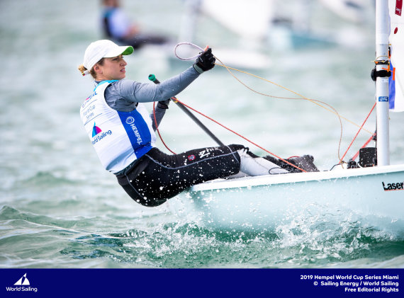Sailing Energy-World Sailing nuotr./Viktorija Andrulytė