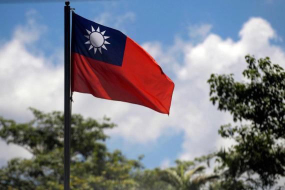 "AFP/""Scanpix"" nuotr./Taivano vėliava"