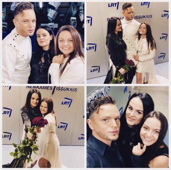 Asmeninio albumo nuotr. /Ruslanas Kirilkinas su seserimis Viktorija ir Oksana