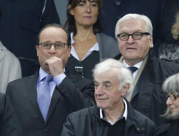 """""""Scanpix""""/AP nuotr./Prancūzijos prezidentas Francois Hollande'as"""
