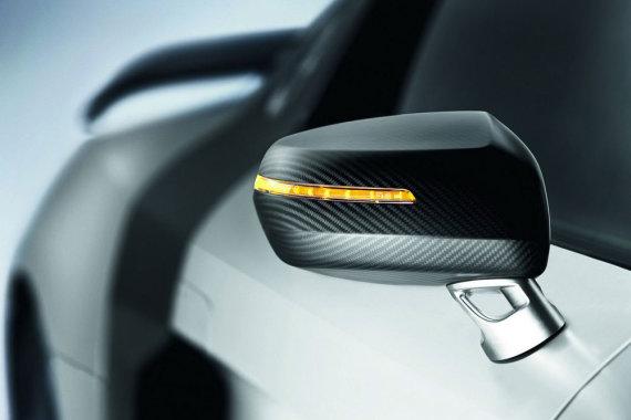 """Gamintojo nuotr./""""Audi R8 GT"""" posūkio signalas"""
