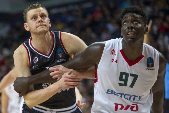 """Roko Lukoševičiaus / 15min nuotr./Vilniaus """"Rytas"""" – Krasnodaro """"Lokomotiv"""""""