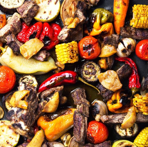 """Scanpix"" nuotr./Kepta mėsa su daržovėmis"