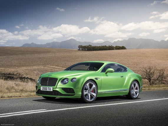 "8. ""Bentley Continental GT Speed"""