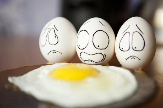 """""""Shutterstock"""" nuotr./Jausmingi kiaušiniai"""