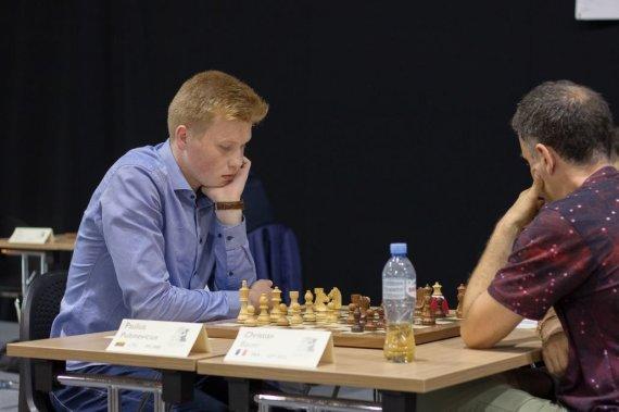 Lietuvos šachmatų federacijos nuotr./Paulius Pultinevičius