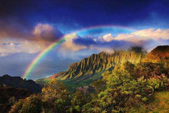 Vida Press nuotr./Pasakiška Kauai sala Havajuose