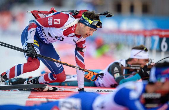 """AFP/""""Scanpix"""" nuotr./Ole Einaras Bjoerndalenas nedalyvaus olimpinėse žaidynese Pjongčange."""