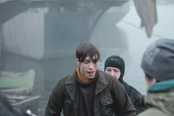 Luko Juzėno nuotr./Arnas Danusas su kaskadininku