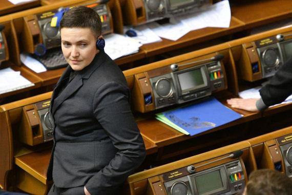 "AFP/""Scanpix"" nuotr./Nadija Savčenko"