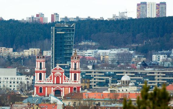 Luko Balandžio / 15min nuotr./Žvilgsnis nuo Trijų kryžių kalno