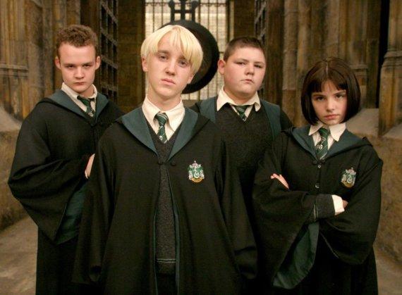 """Kadras iš filmo/""""Hario Poterio"""" filmų aktorius Joshas Herdmanas (kairėje)"""