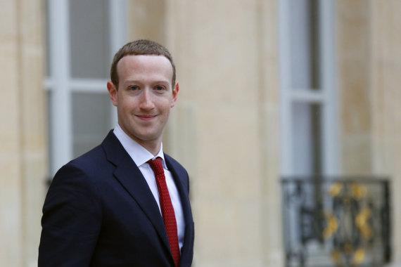 """""""Scanpix""""/AP nuotr./Markas Zuckerbergas"""