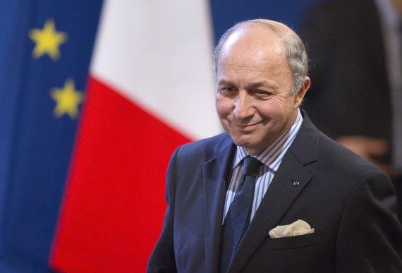 """""""Reuters""""/""""Scanpix"""" nuotr./Prancūzijos užsienio reikalų ministras Laurent'as Fabiusas"""