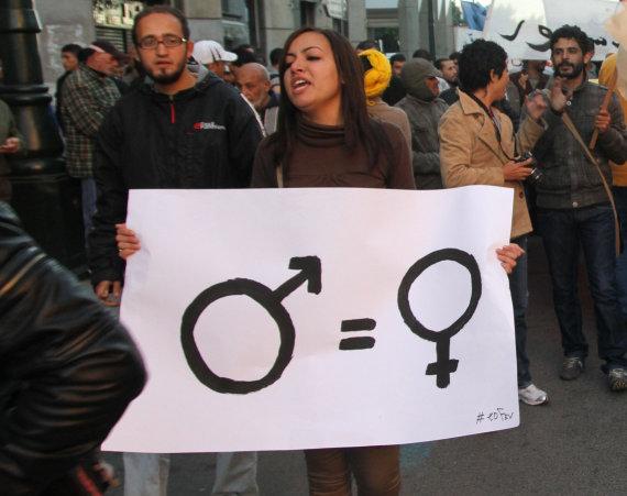 """Scanpix""/AP nuotr./Lyčių lygybė"