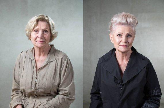 Asmeninio archyvo nuotr./Jurgitos Malakauskaitės kurti stiliaus pokyčiai: Irena prieš ir po jų