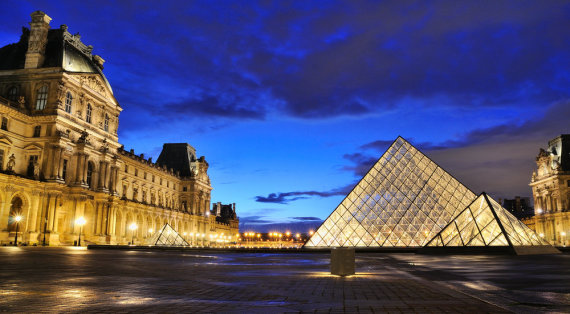 """""""Shuterstock"""" nuotr./Luvro muziejus Paryžiuje"""