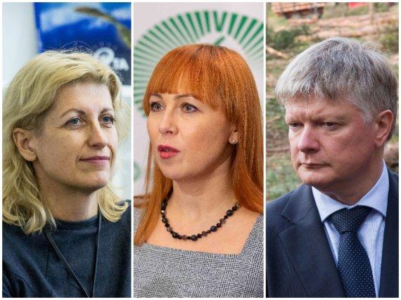 15min nuotr./Liana Ruokytė-Jonsson, Jurgita Petrauskienė ir Kęstutis Navickas