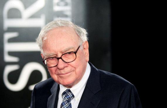 """Reuters""/""Scanpix"" nuotr./Warrenas Buffetas"