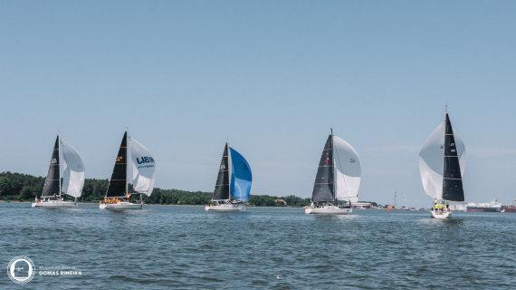 Domo Rimeikos nuotr./Europos jūrinio buriavimo (ORC) čempionatas Švedijoje