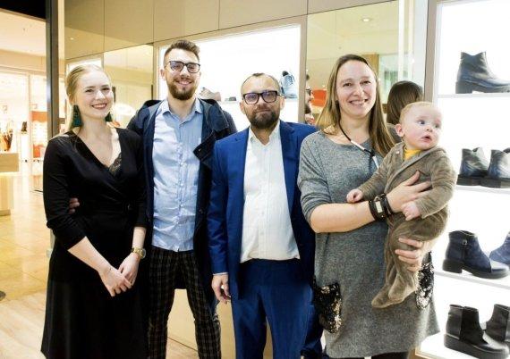 Asmeninio albumo nuotr./Benas Maslauskas su šeima
