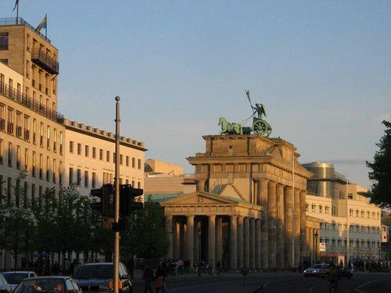 V.Mikaičio nuotr./Vakarėjantis Berlynas