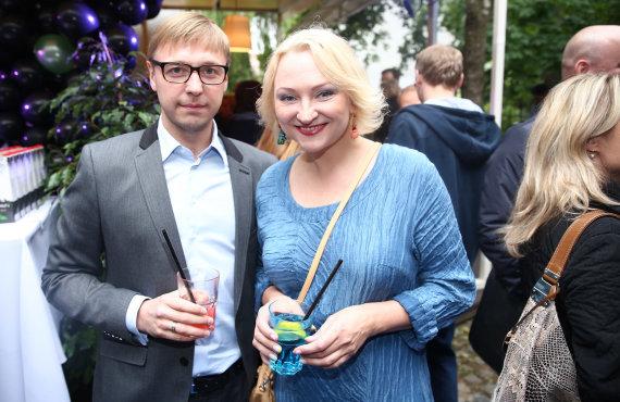 Luko Balandžio/Žmonės.lt nuotr./Inga Norkutė-Žvinienė ir Aurimas Žvinys