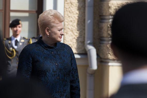 Mariaus Vizbaro / 15min nuotr./ Dalia Grybauskaitė