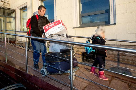 Vidmanto Balkūno / 15min nuotr./Irakiečių apbėgėlių šeima