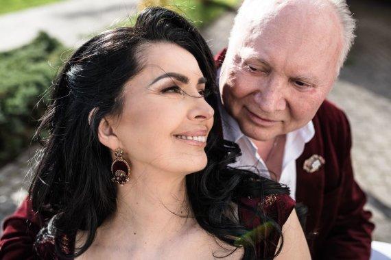 Manto Puhtėjavo/montemelli.com nuotr./Aleksandras Ivanauskas-Fara su žmona Rima