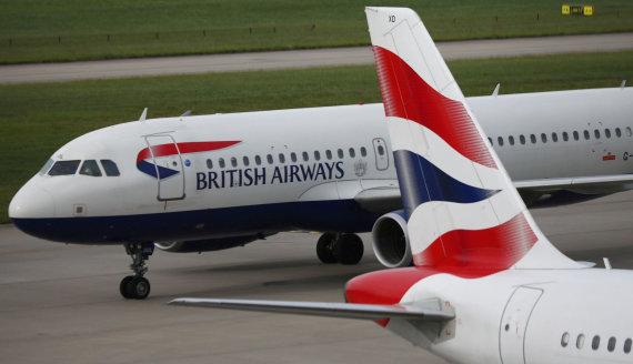 """Reuters""/""Scanpix"" nuotr./""British Airways"" lėktuvas"