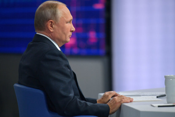 """Sputnik"" nuotr./Vladimiras Putinas"