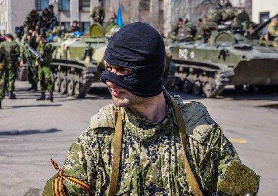 """""""Scanpix"""" nuotr./Rusų karys Ukrainoje"""