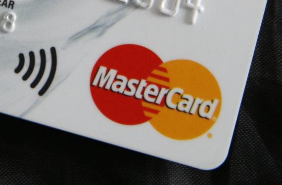 """Scanpix""/AP nuotr./""Mastercard"" kortelė"